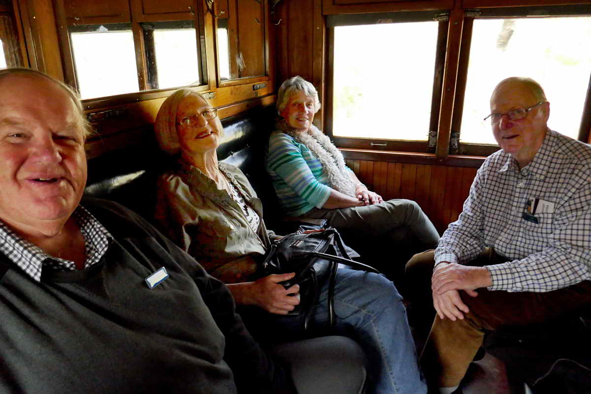 Roger & Margaret Wilson, Tony and Jenniw Bowles