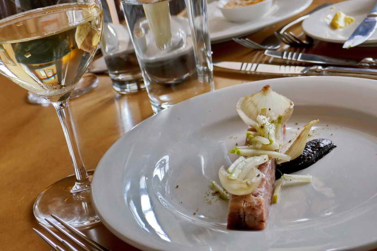 Smoked ham hock terrine - See menu below